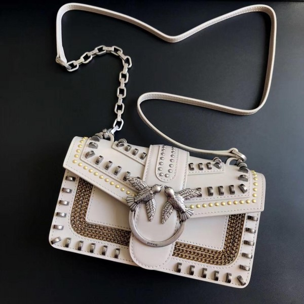 Сумка Pinko Mini Love Bag White